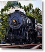 Steam Engine Of Cumberland Metal Print