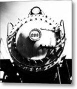 Steam Locomotive #253 Metal Print
