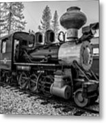 Steam Locomotive 5 Metal Print