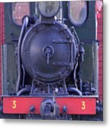 Steam Locomotive Train Metal Print