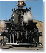 Steam Power Metal Print