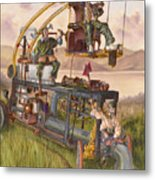 Steam Powered Rodent Remover Metal Print