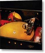 Steam Punk - Hey Dj Make Some Noise Cine-music System Metal Print by Mike Savad