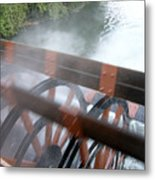 Steamboat Metal Print