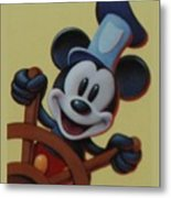 Steamboat Willy Metal Print