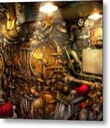 Steampunk - Naval - The Torpedo Room Metal Print
