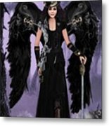 Steampunk Angel Metal Print by Melodye Whitaker
