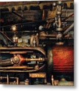 Steampunk - No 8431 Metal Print