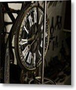 Steampunk - Timekeeper Metal Print