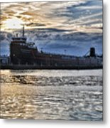Steamship William G. Mather - 1 Metal Print