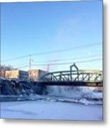 Steamy River  Metal Print