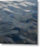 Steel Blue Metal Print by Donna Blackhall