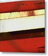 Steel City Rust Abstract Metal Print