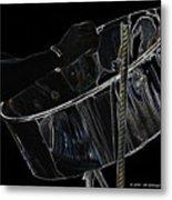 Steel Drum Metal Print