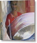 Steel Drums Metal Print