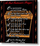 Steel Guitarist's Prayer_2 Metal Print by Joe Greenidge