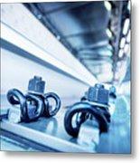 Steel Mechanic Hardware Metal Print