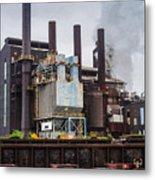 Steel Mill Metal Print