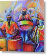 Steel Pan Carnival Metal Print