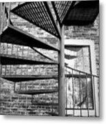 Steel Spiral Metal Print