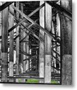 Steel Support Metal Print