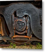 Steel Wheel Of Progess Metal Print