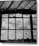 Steel Window Metal Print