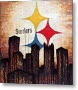 Steelers. Metal Print by Mark M  Mellon