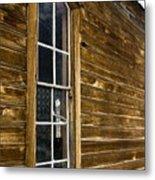 Steeple Window Wall Metal Print