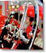 Steering Clear Metal Print