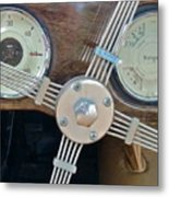 Steering Metal Print