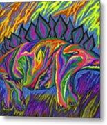 Stegasaurus Colorado Metal Print