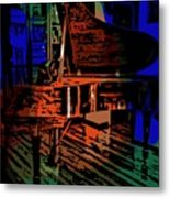 Steinway Piano Metal Print