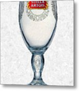 Stella Artois Chalice Painting Collectable Metal Print