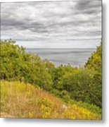 Stenshuvud Sea View Metal Print