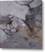 Step On A Crack 2 Metal Print