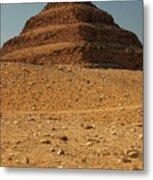 Step Pyramid Metal Print