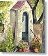 Stephanie's Porch Metal Print