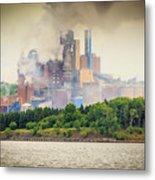 Stephen King Fog Plant Metal Print