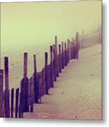 Stepping In A Clouded Dream Metal Print