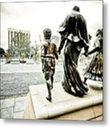 Stepping Out Metal Print