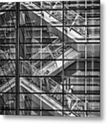 Stepping Panes Metal Print