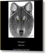 Steppinwolf Metal Print