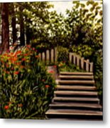 Steps Of Monte Rio Metal Print