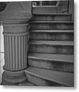 Steps Of Mount Vernon Metal Print