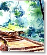 Steps To Eternity Metal Print