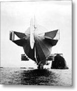 Stern Of Zeppelin Airship - 1908 Metal Print