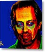 Steve Buscemi Pop Art Metal Print