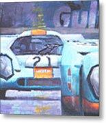 Steve Mcqueen Le Mans Porsche 917 01 Metal Print
