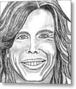 Steven Tyler 2 Metal Print